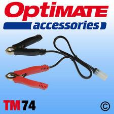 Abrazadera de Batería OptiMate/ACCUMATE plomo (TM74), Reino Unido Proveedor y Garantía Nuevo