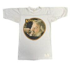 Kenny Rogers Vintage 1980 American Tour T Shirt Größe Small