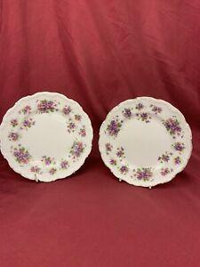 Royal Albert Bone China Side/Cake Plate. 'Violetta' (471)