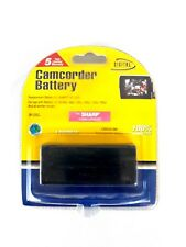 Digital Concepts Camcorder Battery Lithium Ion Rechargeable Fits Sharp BP225CL
