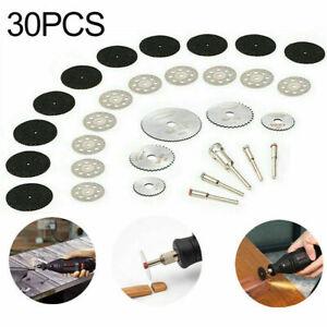 30X Diamant Trennscheibe Trennscheiben Kreissägeblätter Cutter Für Drehwerkzeug