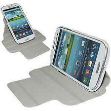 AMZER Flipcase with Kickstand Fits for Samsung GALAXY S III GT-I9300 - White