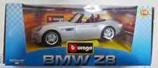 RARE BURAGO DIE-CAST CAR 1/18 - BMW Z8 SILVER (D7)