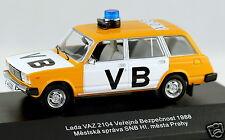 1/43 scale FoxToys FOX019 VAZ 2104 LADA Verejna Bezpecnost VB  Police 1988 NIB