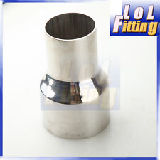 """2 1/2""""ID to 2 1/4""""OD STAINLESS REDUCER PIPE CUSTOM TURBO/EXHAUT/INTERCOOLER A"""