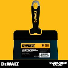 "DEWALT Taping Knife 8"" Premium Blue Steel Big Back Drywall Taping Tool"