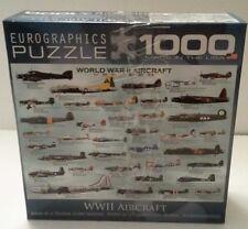 Europgrahics USA World War II Aircraft Puzzle, 1000-Piece
