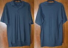 Men's IZOD Size Large Polo Golf Shirt Short Sleeve Excellent B-11