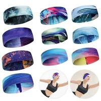 Sport Sweatband Unisex Men Women Headband Yoga Gym Stretchy Head Band Hair band