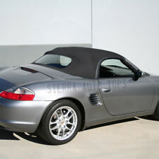Porsche Boxster Convertible Top 03-04 in Black German A5 with Glass Window