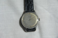 LeCoultre Cal. 12A watch, bumper movement, Stainless Steel case and back