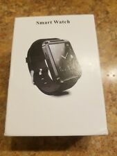 Bluetooth Smart Watch Phone Mate For IOS Android iPhone Samsung HTC Black