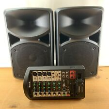 Yamaha Stagepass 400BT Mobile DJ PA System with 2 Shure Microphones