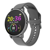 Ecran Tactile Montre Smart Watch Intelligente Barcelet Connectée Bluetooth Gris