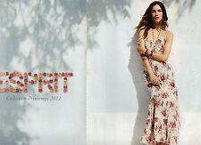 Publicité Advertising 2011  (2 Pages)  ESPRIT collection mode pret à porter