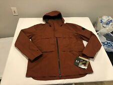NWT $300.00 Under Armour Mens Paclite Gore-Tex Waterproof Jacket Blur Red LARGE