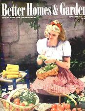 SEPTEMBER 1943 BETTER HOMES & GARDENS-GREAT VINTAGE ADS-RARE