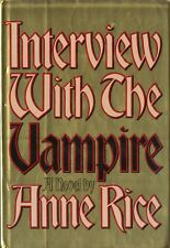 INTERVIEW WITH A VAMPIRE-1ST ED/1ST PRINT W/DJ-ANNE RICE-NICE COLLECTIBLE!