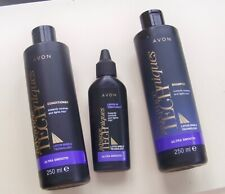 AVON Lotus Shield Shampoo Conditioner & Leave In Treatment Ultra Smooth Hair (A)
