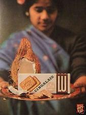 PUBLICITÉ 1960 BISCUITS LU CINGALAIS AUX NOIX DE COCO - ADVERTISING