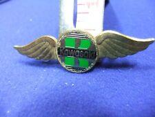 vtg badge kawasaki motor cycle bike 1970s advert advertising owner biker dealer