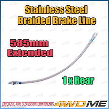 1 x TOYOTA HILUX KUN26 N70 4WD EXTENDED REAR Stainless Braided Brake Line NO ABS