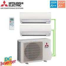 CLIMA MITSUBISHI DUAL INVERTER MXZ-2DM40VA + MSZ-DM25VA + MSZ-DM25VA