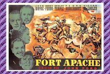 Carte Postale Affiche de Film - FORT APACHE