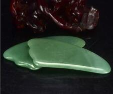 1pcs Chinese Natural Gua Sha Jade Guasha SPA Message Beauty Tool Free Shipping