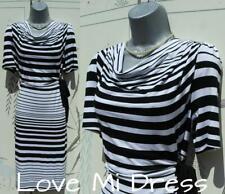 Marks & Spencer - Gorgeous Per Una Stripe  Dress Sz 14 EU42