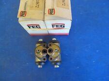2 Cylindres de roue arrière FEG pour Fiat Ritmo, Lancia Delta