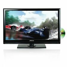 Axess 19-Inch LED Full HDTV, Includes AC/DC TV, DVD Player, HDMI/SD/USB Inputs,