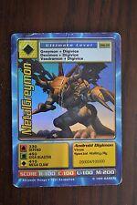 Metalgreymon - DW-01 - Holographic Foil - Digimon World Promo Card - HP