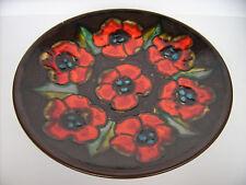 Keramik Wandteller Teller 36cm Ruscha West-Germany pottery Fat Lava WGP vintage