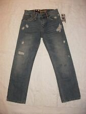 FOX 'THROTTLE 2' DISTRESSED BOYS JEANS SIZE 16