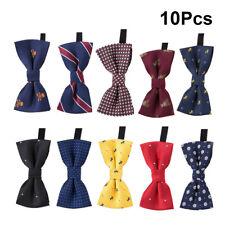 10Pcs Ties Creative Tie Fashion Ties Neck Ties Bow Ties Cloth Accessory for Boys