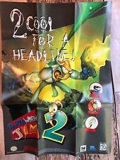Earthworm Jim 2 (Nintendo Snes) *Poster Only*