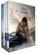 Holly Webb Winter Animal Collection 4 Books Set Pack Storm Leopards, Winter Wolf