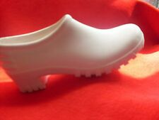 Ladies Girls Clog style gardening shoes UK 2 White