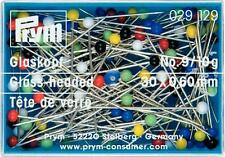 Prym Glaskopfstecknadeln 10g Nadeln  30x0,6mm Stecknadel  029129