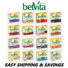 BELVITA BREAKFAST BISCUITS & BARS PACK OF 2 BOXES PICK ONE EASY SHIPPING