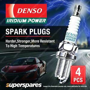 4 x Denso Iridium Power Spark Plugs for Nissan Pulsar N16 QG18DE 00-06