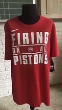 "Detroit Pistons "" firing On All Pistons� Nike Drifit Tee. Nwt Sz: Medium $35"