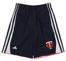 adidas MLB Little Boys Minnesota Twins Batters Choice Short, Navy