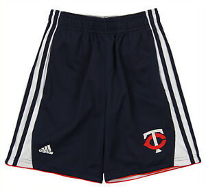 adidas MLB Little Boys Minnesota Twins Batters Choice Short, Navy