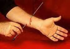 Magic Tricks NEEDLE THRU ARM (Through) Trick - 'Voodoo'!