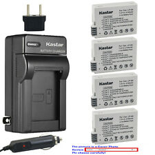 Kastar Battery Travel Charger for Canon LP-E8 LC-E8 & Canon EOS Kiss X4 Camera