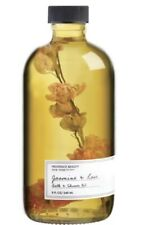 Provence Beauty Jasmine & Rose Bath And Shower Oil, 8oz Large Size!