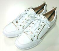 Caprice Damen Schuhe Halbschuh Schnürer Schnürschuh Sneaker weiß 23753 102 Leder