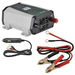 Cobra CPI 490 Certified Refurbished Compact 400 Watt Power Inverter W/ Cables